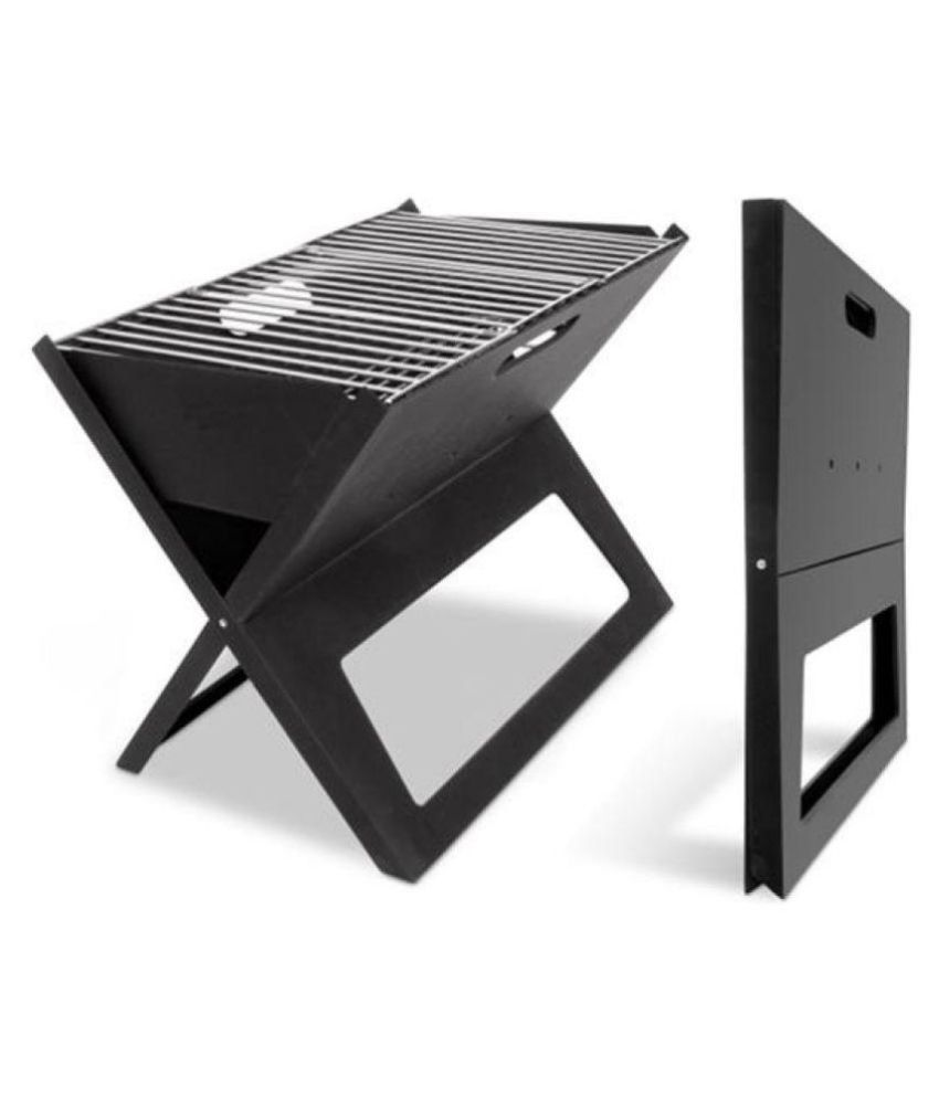 Frel Portable Foldable Bbq Charcoal Barbeque Price In India Online On Snapdeal