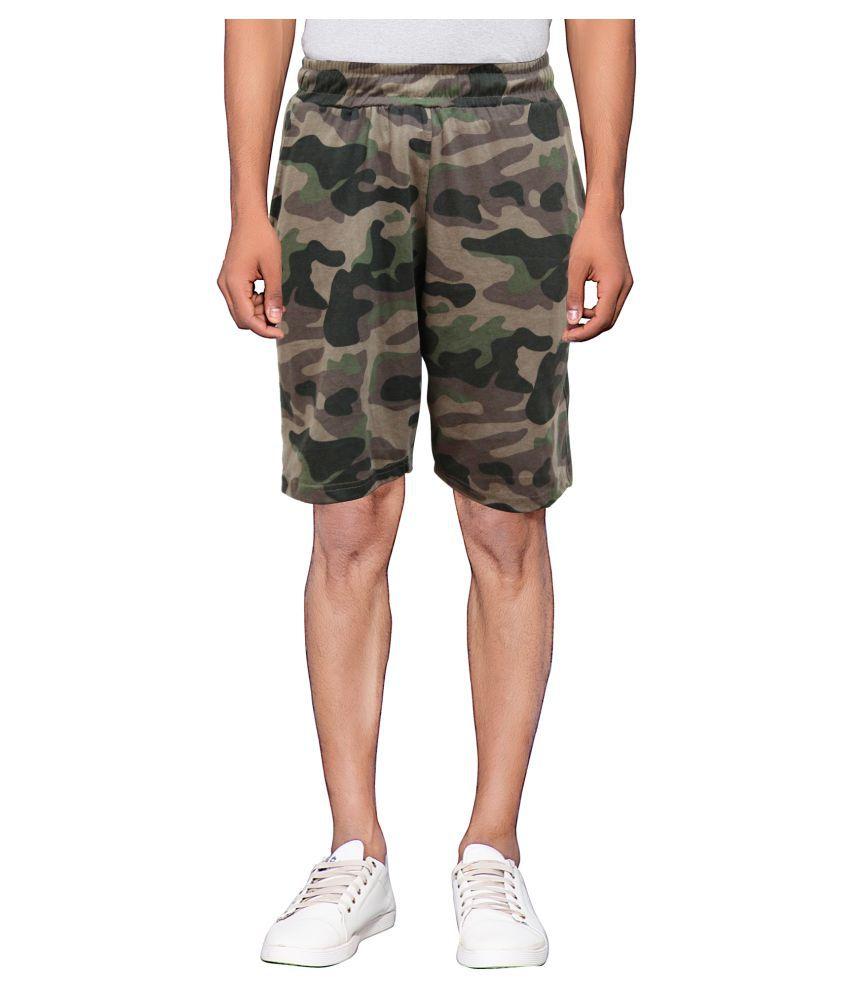 Maniac Green Shorts