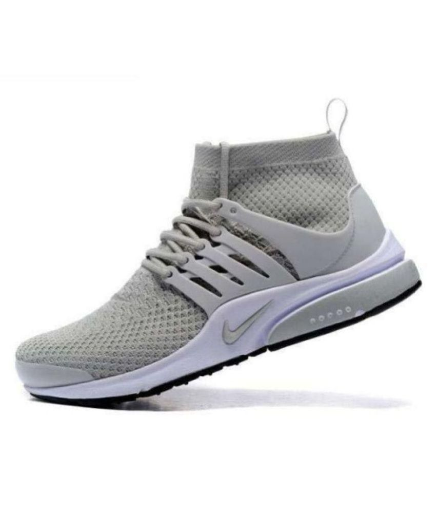 03d098dc09af9 Nike Air Presto Gray Running Shoes Nike Air Presto Gray Running Shoes ...