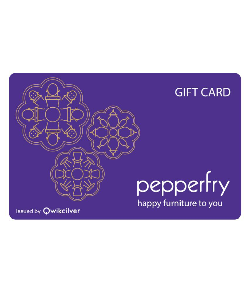 Pepperfry EGift Card - Delivered via Email