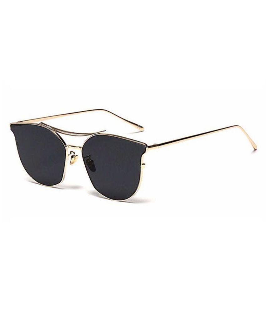 RazMaz Black Cat Eye Sunglasses ( RZ2111 )