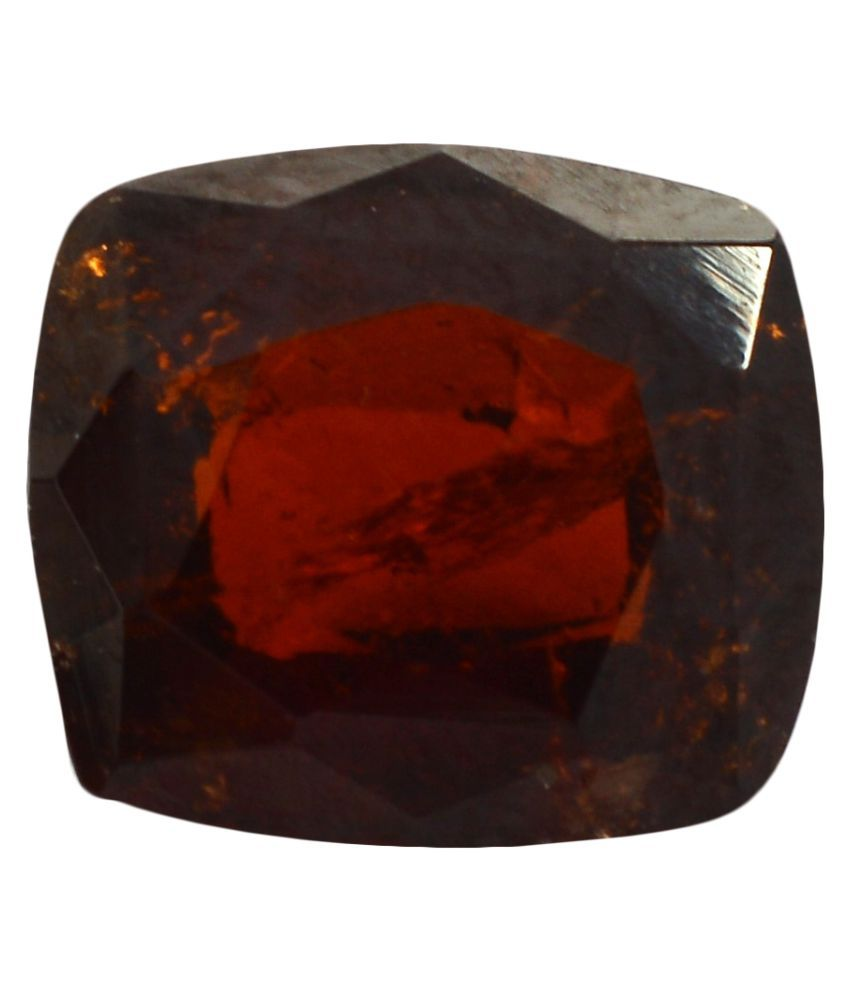 pitliya jewellers 5 -Ratti Self certified Brown Hessonite Garnet (Gomed) Precious Gemstone