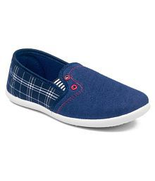 Asian Hunter-31 Navy Casual Shoes