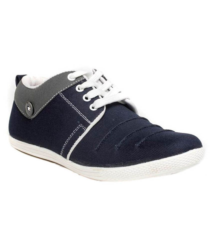 Aadi Blue Casual Shoes