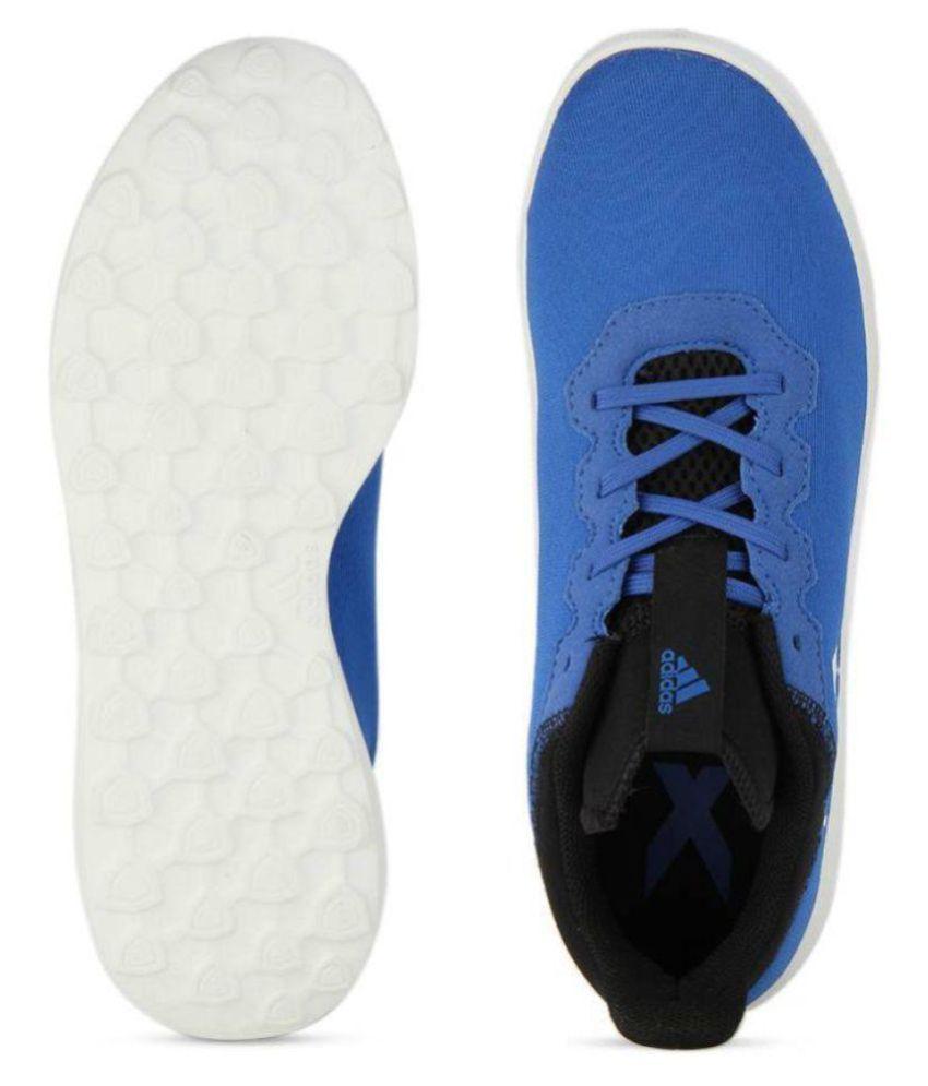 sale retailer bc1fd 03830 ... Adidas X 16.4 TR Blue Football Shoes ...