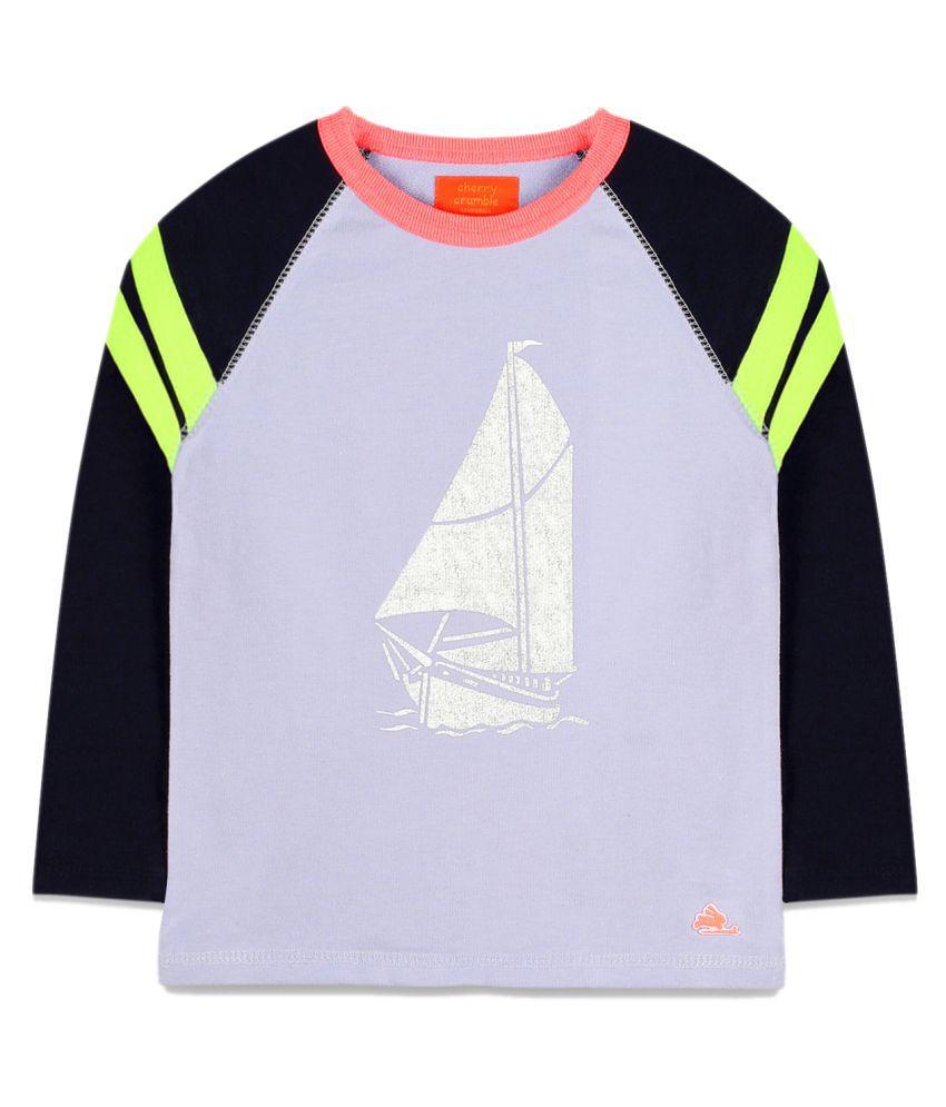 Cherry Crumble Sporty Sailor Sweatshirt