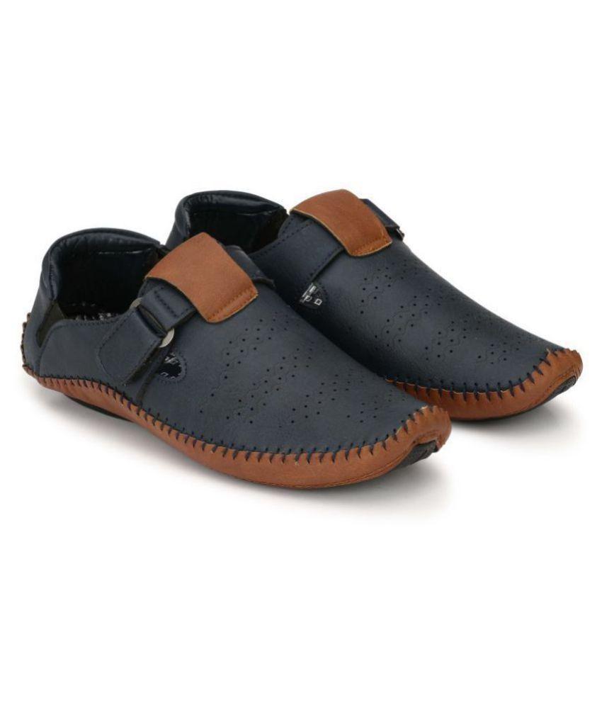Big Fox Men s Roman Blue Sandals Price in India- Buy Big Fox Men s ... 517ac138a631