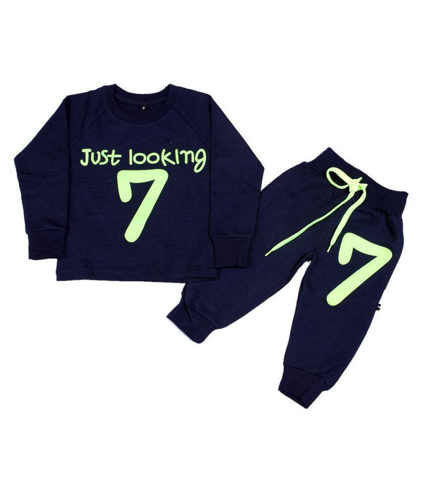 167009b4cdfff Finger's Toddler Baby Boy Girls Sweatshirt Top+Pants Outfits Tracksuits  Sport Suit