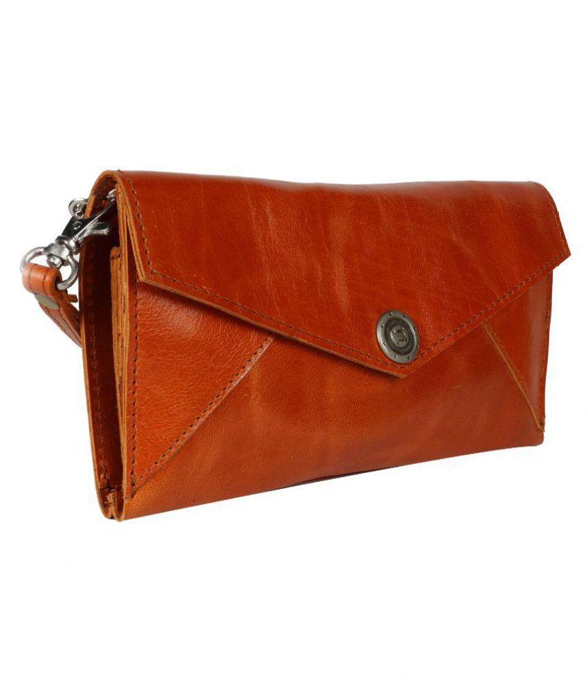 PRISTINO Tan Wallet