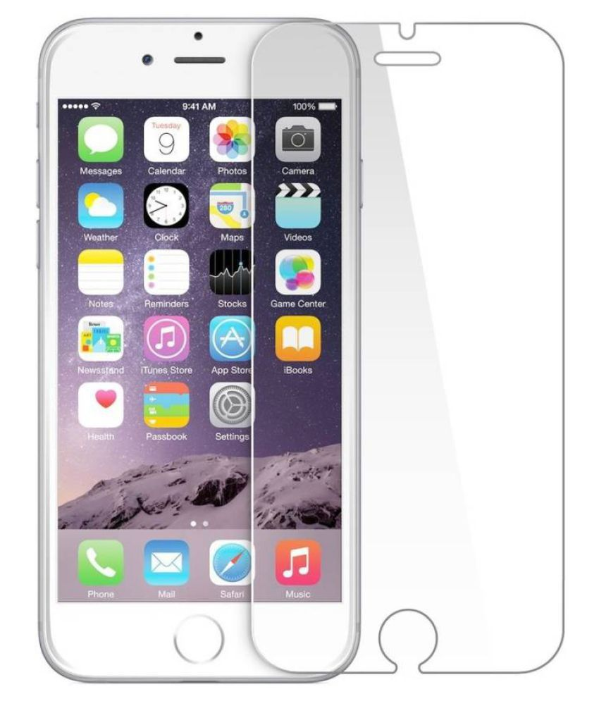 Apple iPhone 6 Plus Tempered Glass Screen Guard By Robux 4D