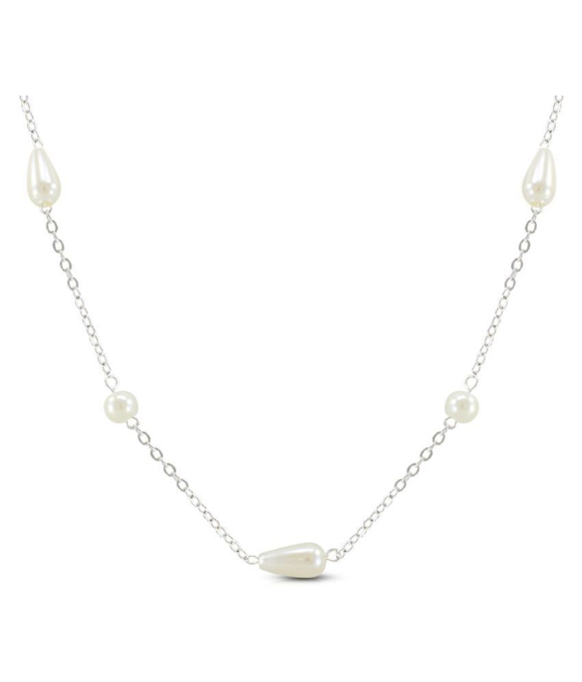 Diva Fashion Pear Design Girls Necklace With Chain
