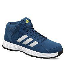 Adidas Adi Rib Blunit Shoyel silvmt Blue Basketball Shoes