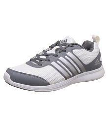 Adidas Ykings 1.0 Grey White Running Shoes
