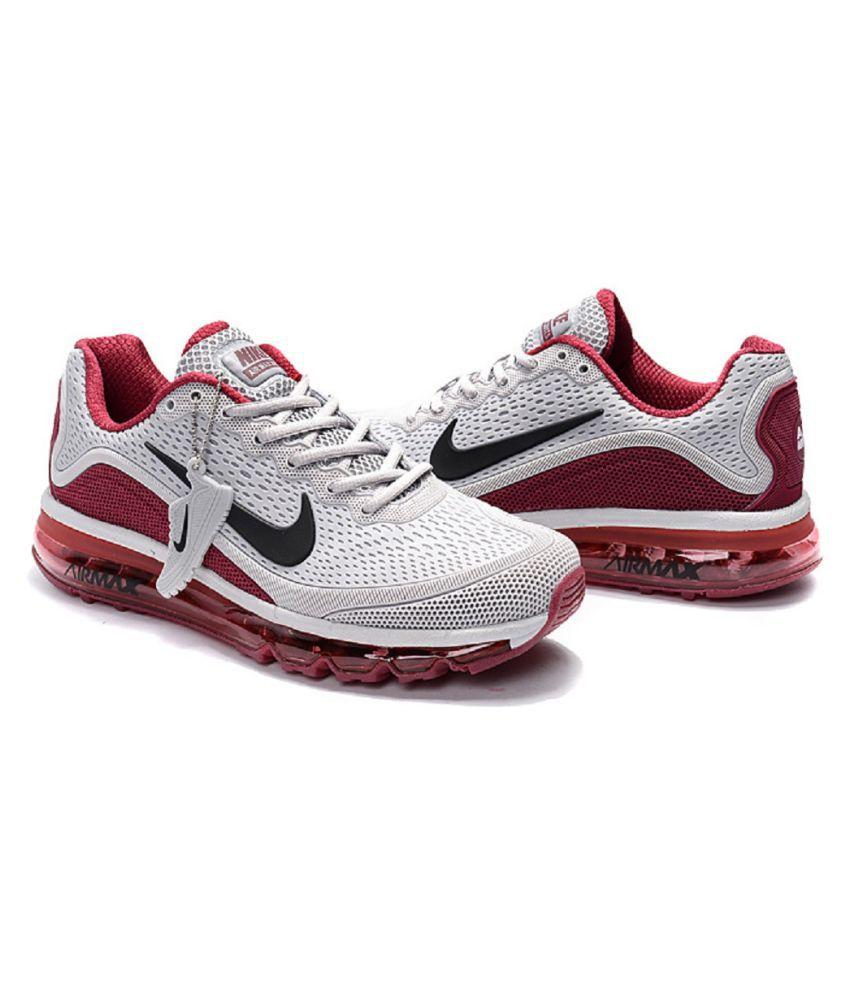 sports shoes d8c3e fb6fd Nike Airmax 2017.5 Gray Running Shoes