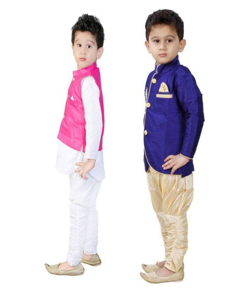 e72547de8 ... FTC Bazar Boys Festive & Party Kurta and Pyjama Set (Multicolor Pack ...