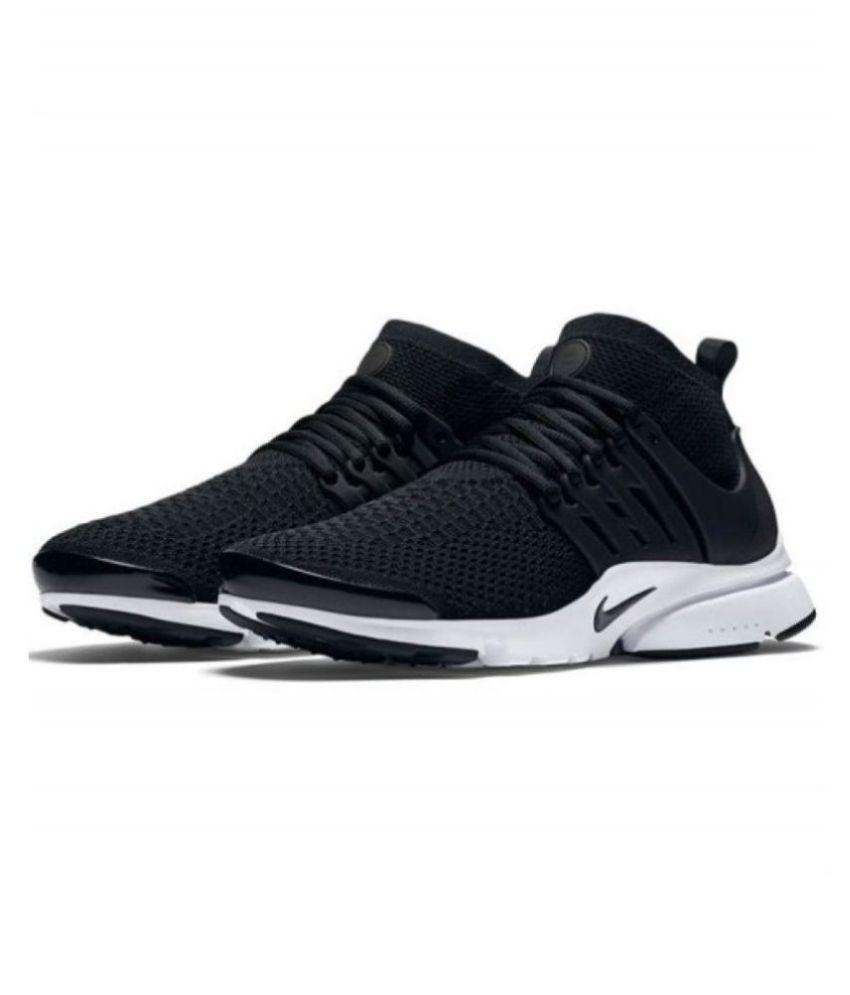 c1f660c6993c Nike Air Presto Flyknit Black Running Shoes - Buy Nike Air Presto Flyknit  Black Running Shoes Online at Best Prices in India on Snapdeal