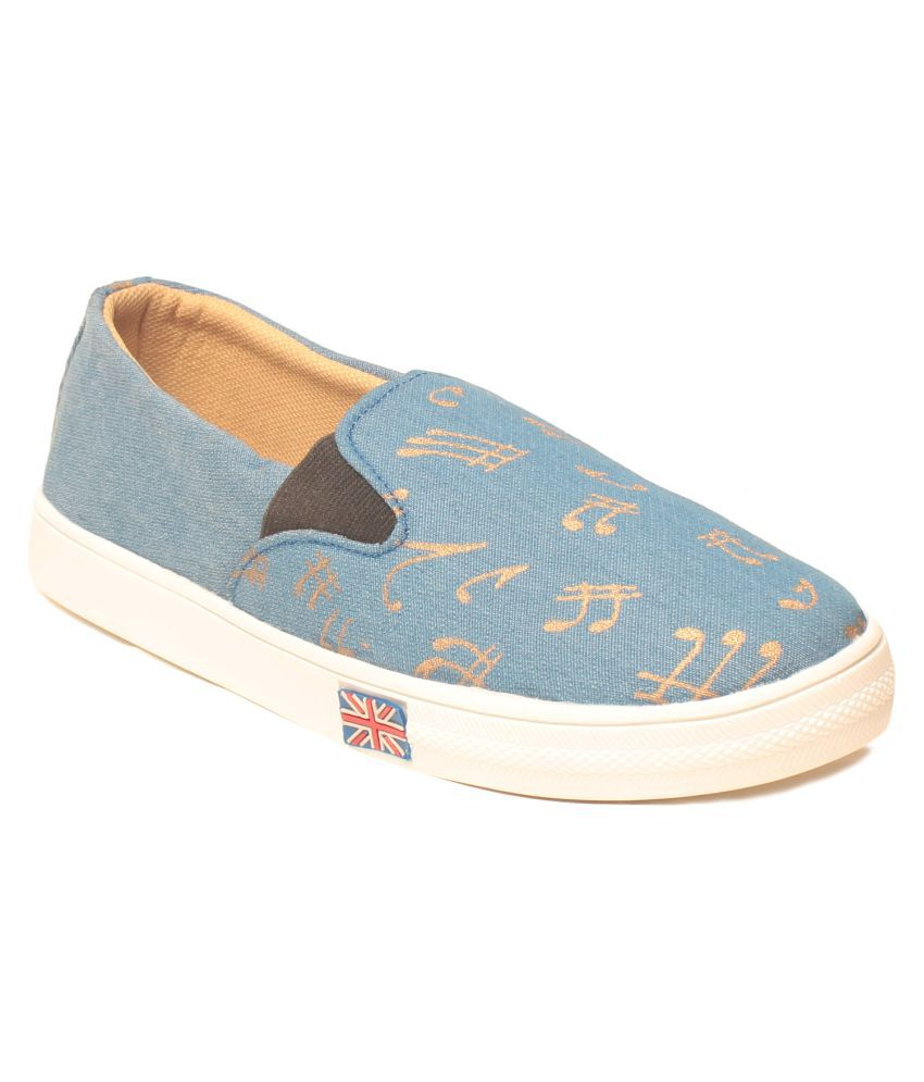 MSC Blue Casual Shoes