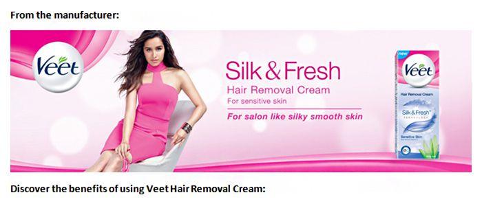 Veet Sensitive Skin Hair Removal Cream 100 Gm Pack Of 3 Buy