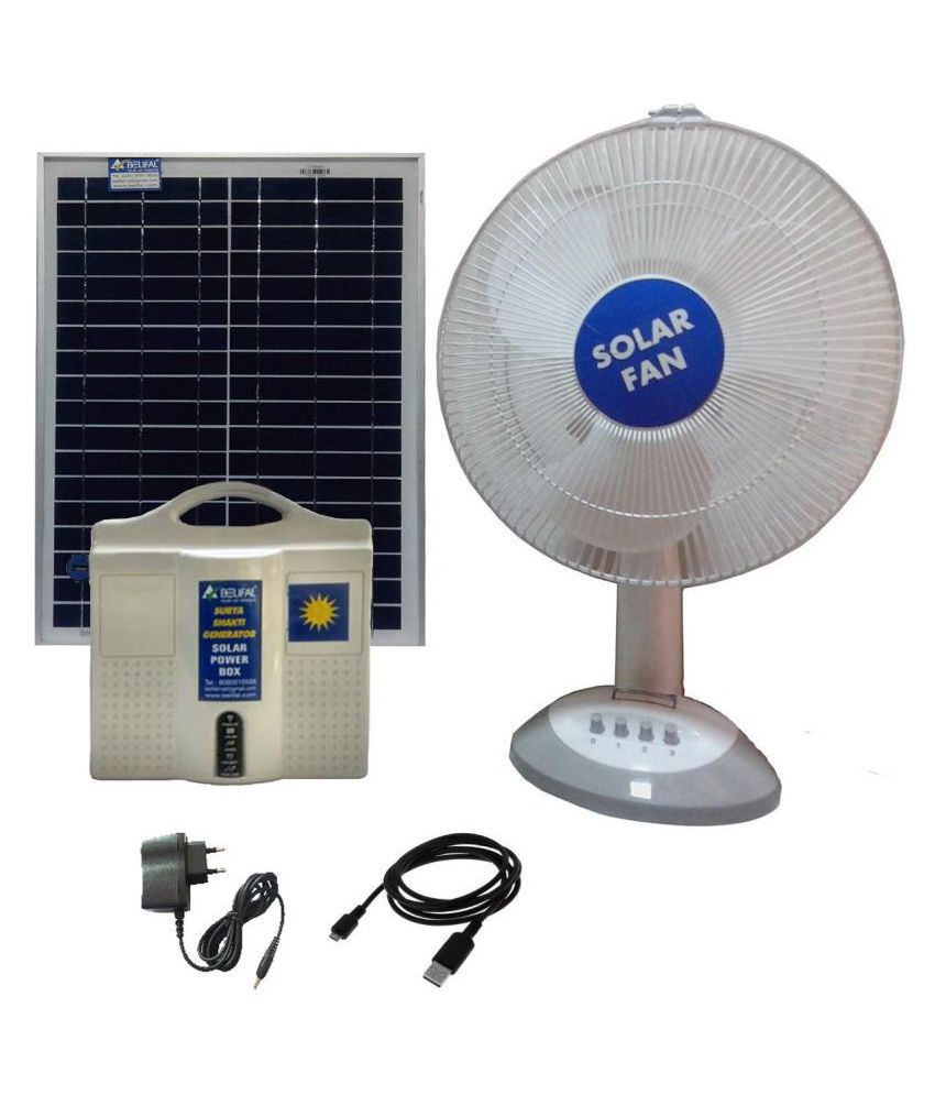 Belifal Solar Home Lighting System With Fan,Battery,Panel Solar ...