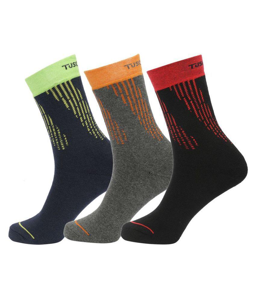 Tuscanny Multi Formal Full Length Socks
