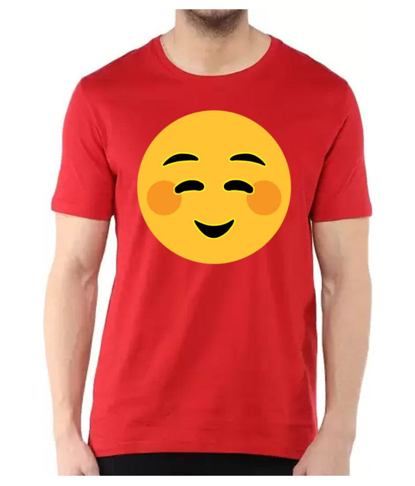 BBK Red Round T-Shirt Pack of 1