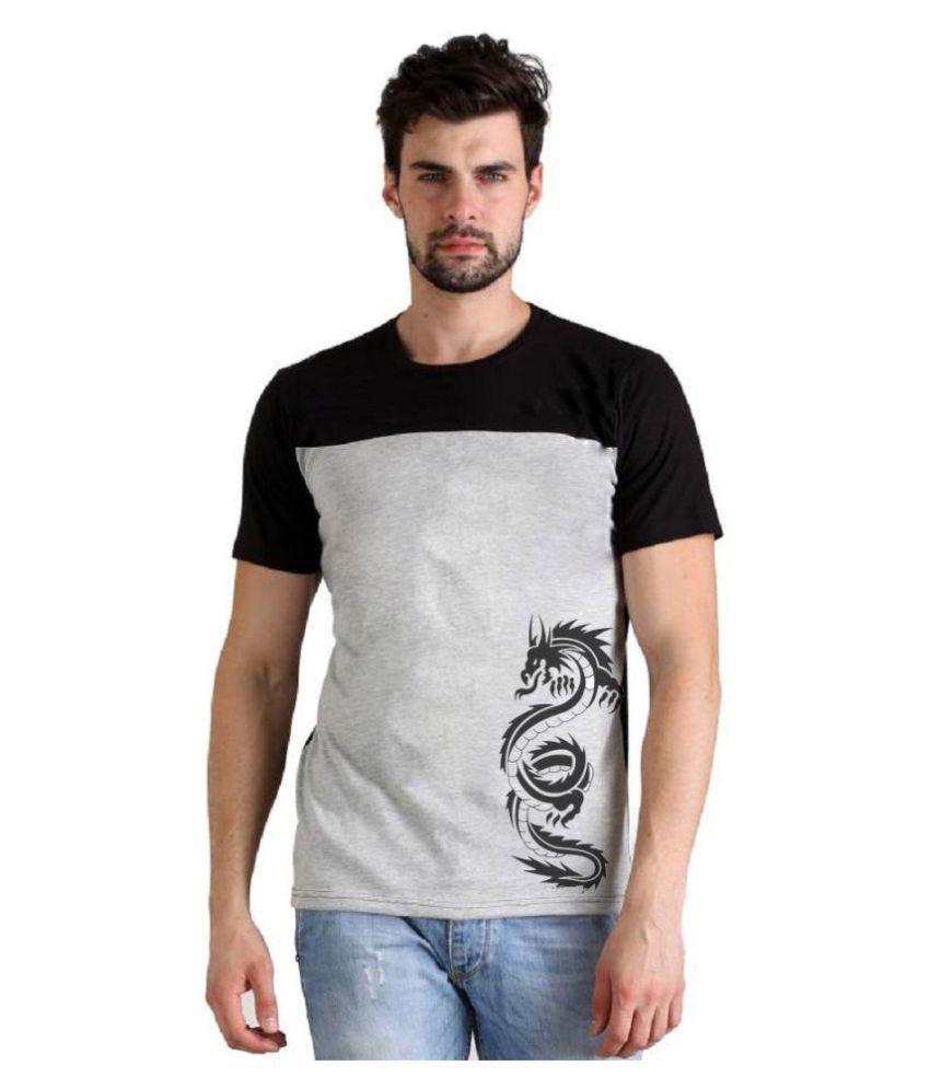 Lime Black Round T-Shirt