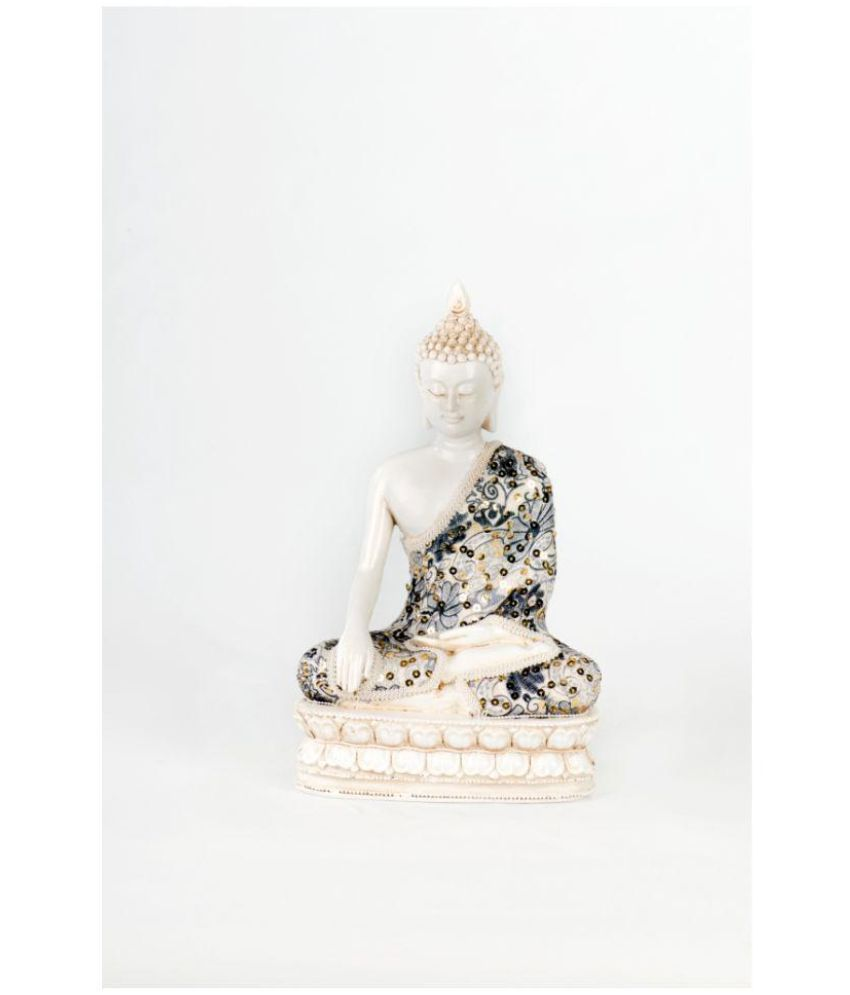 Shree padam art exim Buddha Polyresin Idol