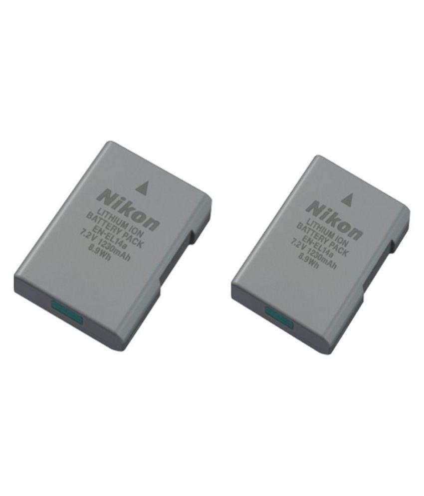 Nikon EN EL14A 1230 Rechargeable Battery 2
