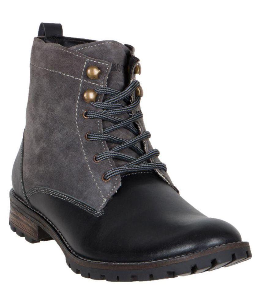 Numero Uno Black Casual Boot