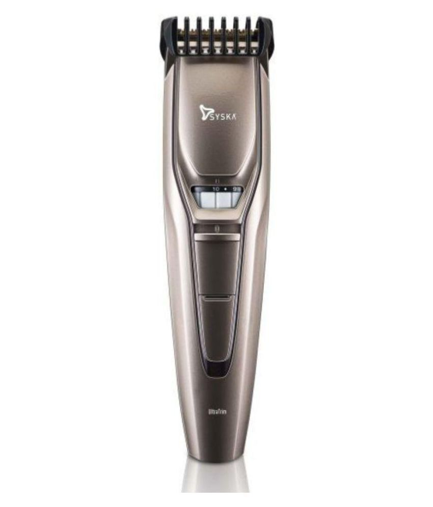 Syska HT400 Beard Trimmer ( Champagne Gold )