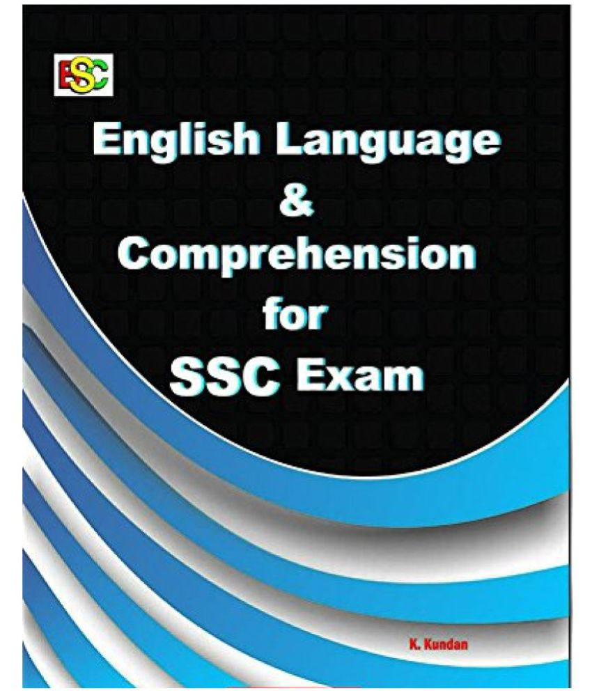 english language and comprehension for ssc exam