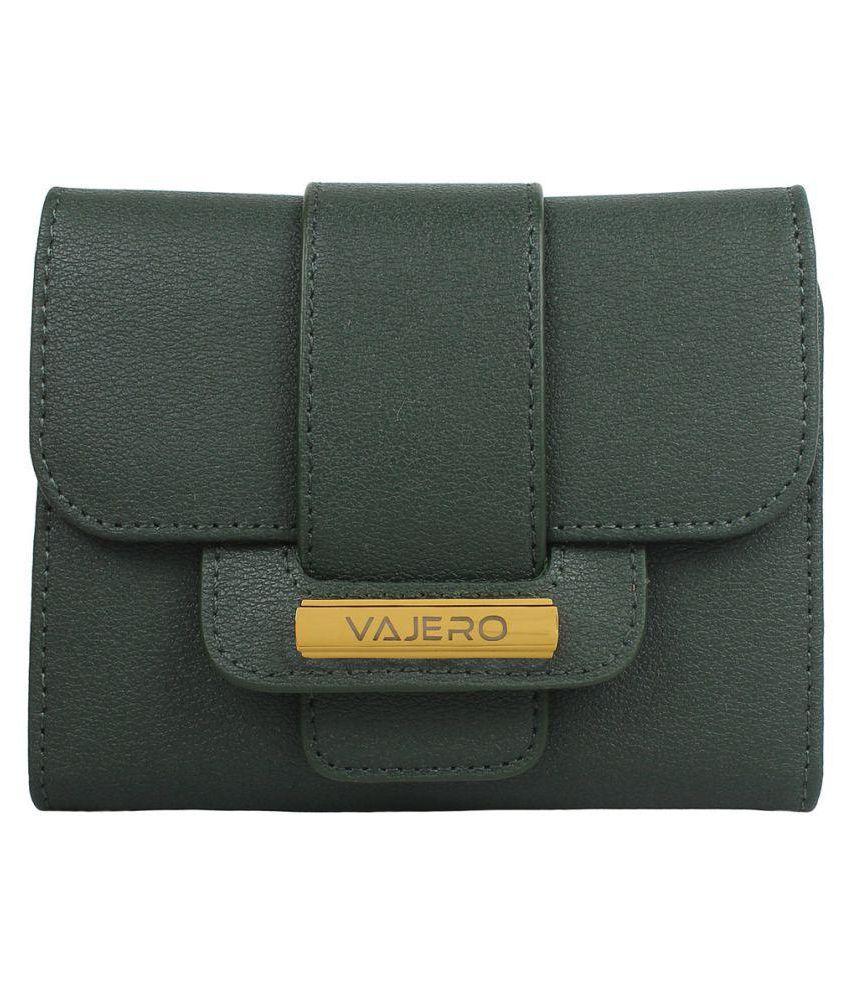 Vajero Green Wallet