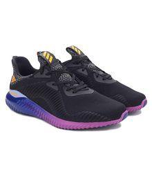 Adidas corriendo zapatos l44422 adiquest1 (blanco / negro / plata)