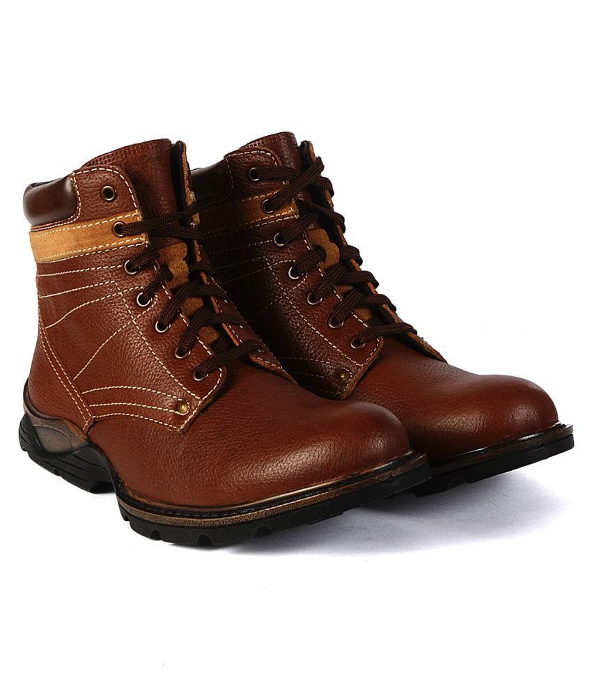 Valentino Tan Casual Boot