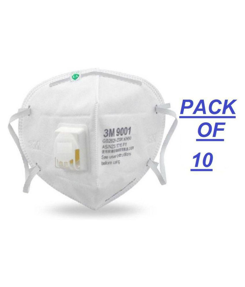 3m For Buy 9001 10pc - And Mask Pollution Respirator Air