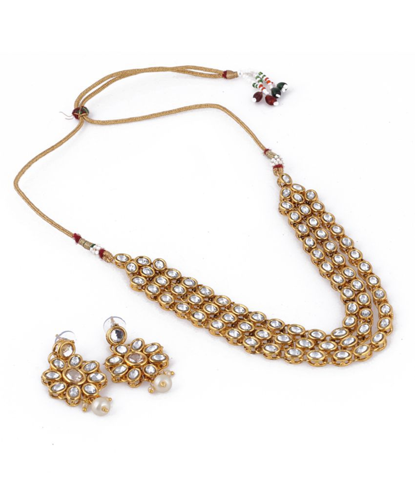 Ethnic Kundan Jewellery Sets with Prices Online | Romoch