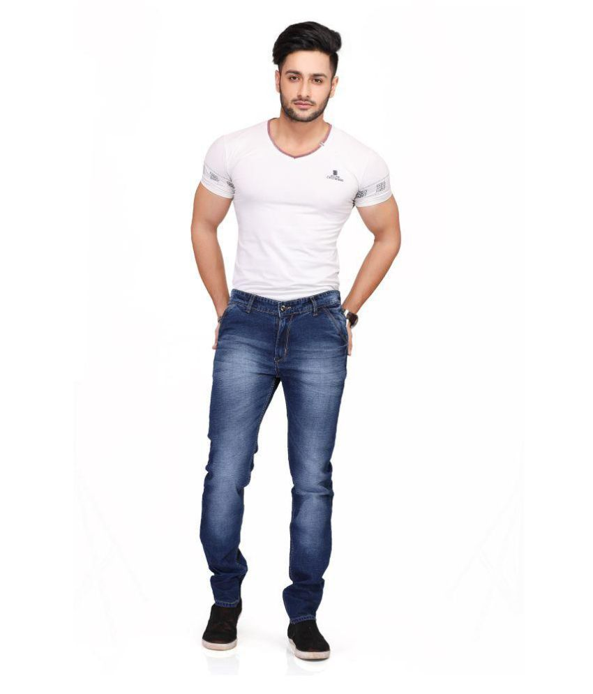 FUEL STORES Blue Slim Jeans