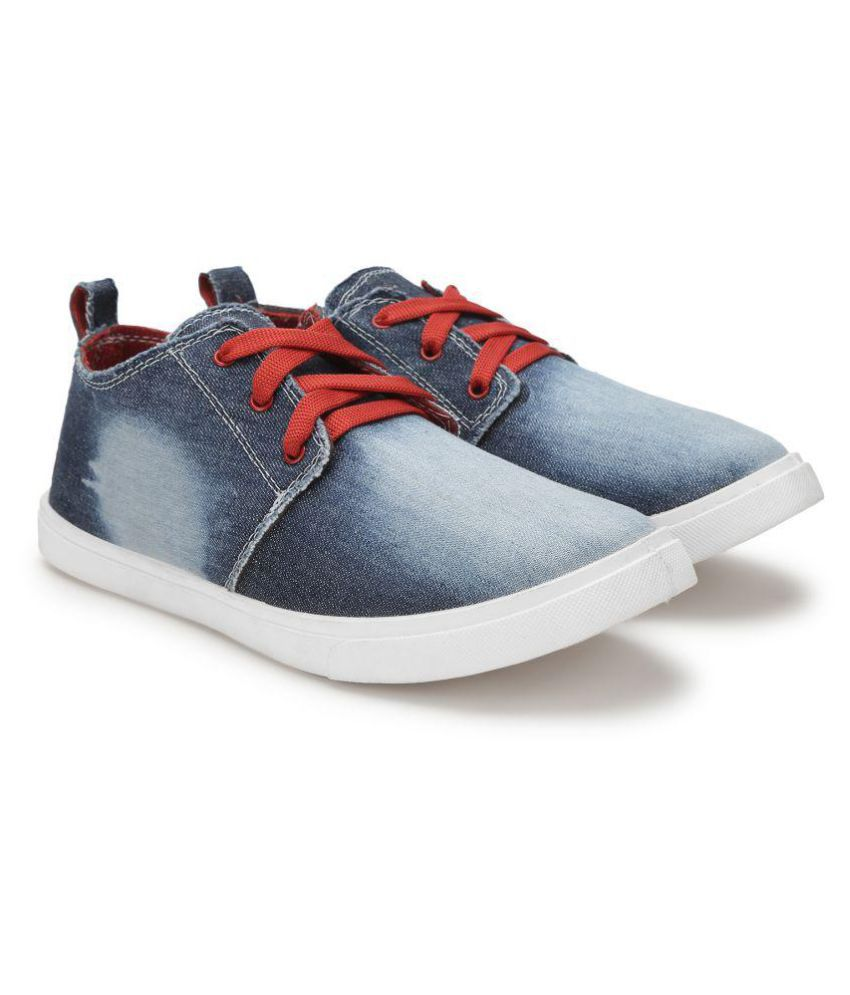 buy cheap visit Treadfit Denim Premium Sneakers Blue Casual Shoes clearance explore cheap sale with mastercard outlet with paypal cheap sale best store to get pkLnLzzm