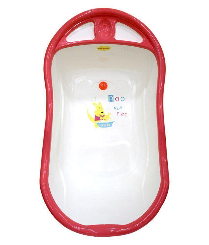 Born Babies Red Plastic Baby Bath Tub: Buy Born Babies Red Plastic ...