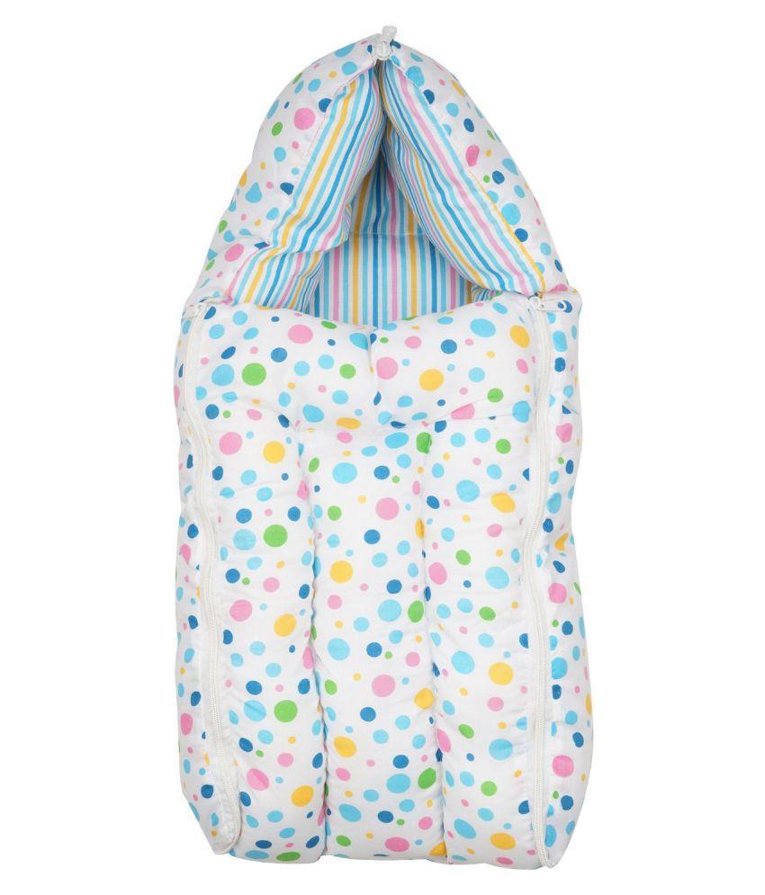 RBC Riya,R Blue Cotton Sleeping Bags ( 76 cm × 41 cm)