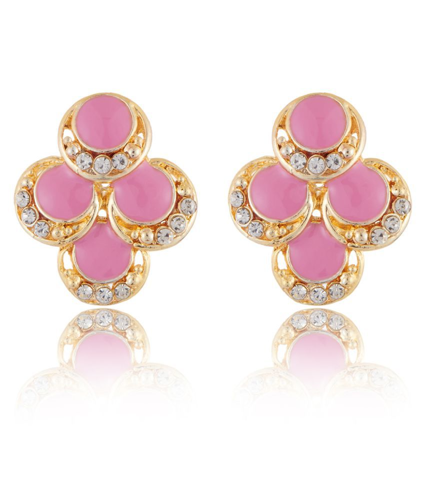 Jazz Fabulous Charming Jewellery Earring Gold Plated Designer Trendy Style Fancy Party Wear Earring For Girls Ladies
