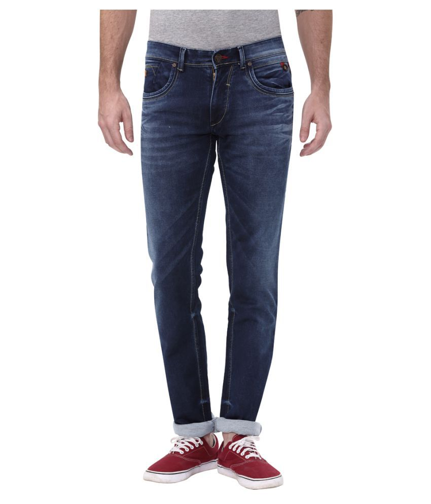 Apris Dark Blue Slim Jeans