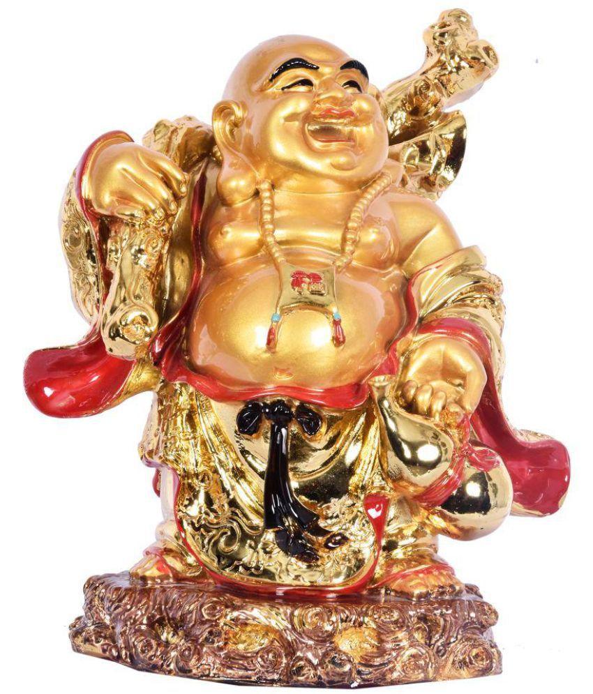 Navrang Gold Resin Handicraft Showpiece - Pack of 1
