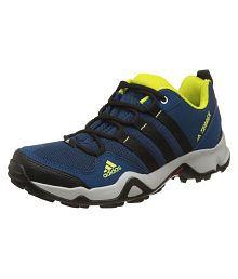 Adidas Path Cross Blunit Cblack Shosli Blue Hiking Shoes