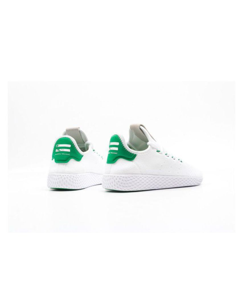 29e5fd1490e93 Adidas Pharrell Williams White Casual Shoes - Buy Adidas Pharrell ...
