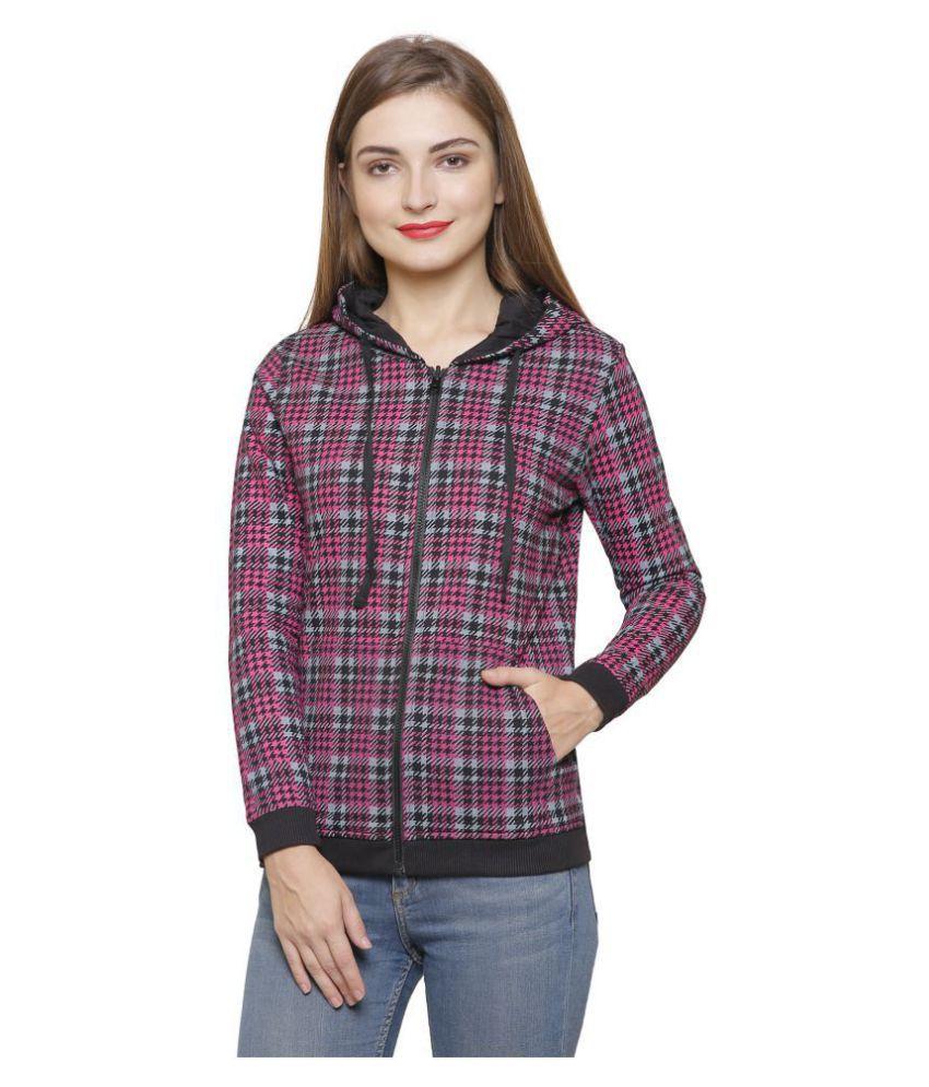 Maggivox Cotton Black Hooded Sweatshirt