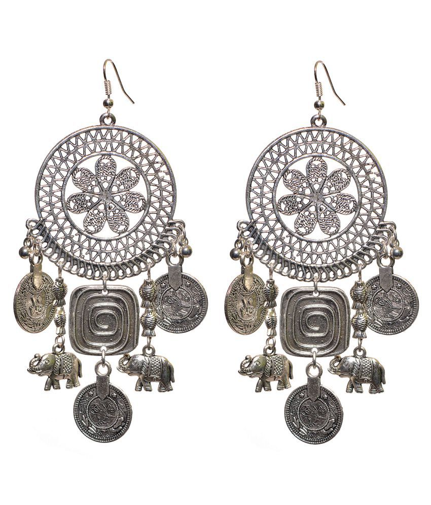 Watch Me Ethnic Earrings for Women WMRE-036