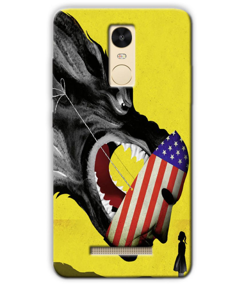 Xiaomi Redmi Note 3 Printed Cover By Case King