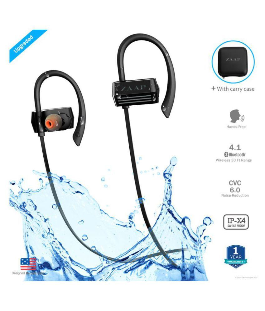 09962f9d075 ZAAP Aqua Activ On Ear Wireless Headphones With Mic - Buy ZAAP Aqua Activ  On Ear Wireless Headphones With Mic Online at Best Prices in India on  Snapdeal