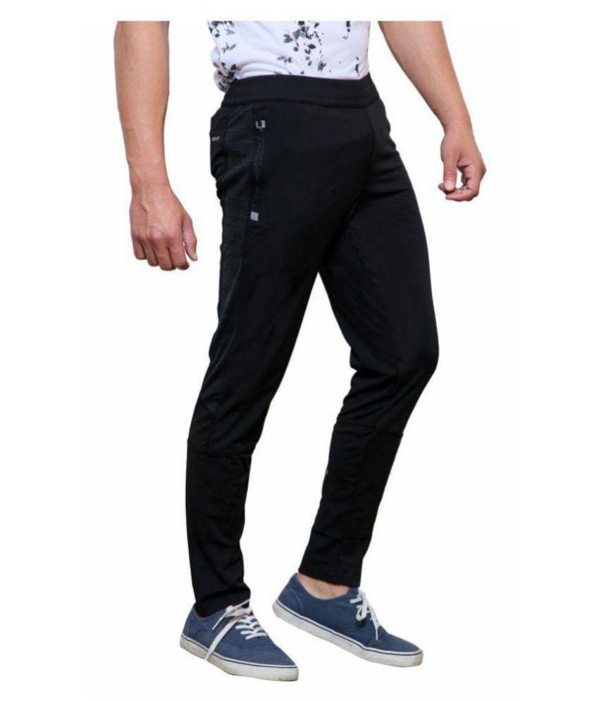 75d8f3595832 Black Polyester Lycra Track Pant - Buy Black Polyester Lycra Track ...